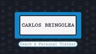 CARLOS BEINGOLEA C&PT QUEDA