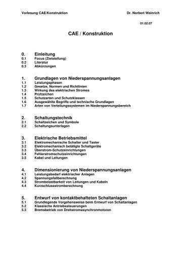 Wunderbar Dimensionierung Elektrischer Kabel Bilder - Elektrische ...