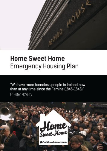 Home Sweet Home Emergency Housing Plan