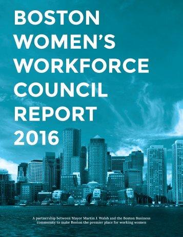 WOMEN'S WORKFORCE COUNCIL REPORT 2016