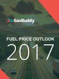 FUEL PRICE OUTLOOK