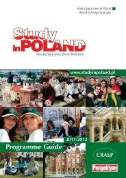 Programme Guide - Study in Poland