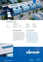 University of Astana 2009 Astana üniversitesi - Zambelli GmbH & Co ...