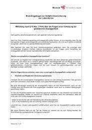 NLC Fragebogen 1209 - Nassau Versicherungen