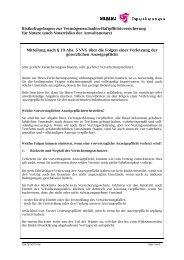 Risikofragebogen zur Vermögensschaden-Haftpflichtversicherung ...