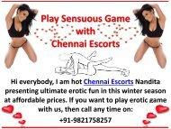 Warm love with Hot Chennai Escorts
