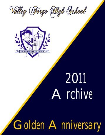 Valley Forge High School Golden Anniversary Yearbook
