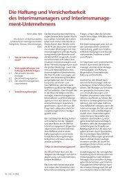 ment-Unternehmens - Nassau Versicherungen