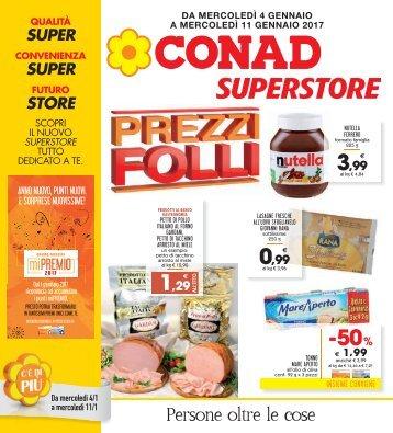 Conad Superstore Olbia 2017-01-04