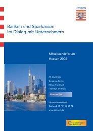 Banken und Sparkassen im Dialog mit Unternehmern - Naspa