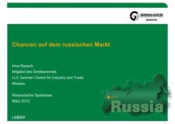 Chancen auf dem russischen Markt - Naspa
