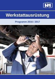 HESS Autoteile // Werkstattausrüstung Programm 2016/17