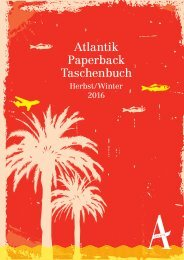 Atlantik Paperback Herbst 2016