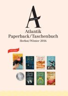 Atlantik Paperback Herbst 2016 - Seite 2