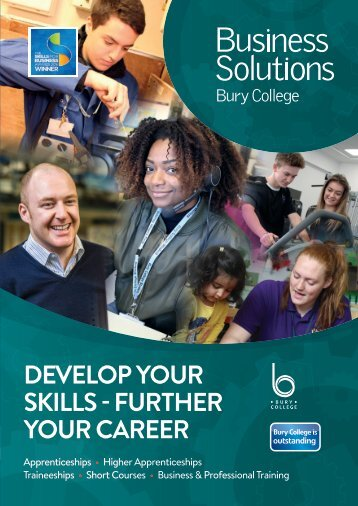 DEVELOP YOUR SKILLS - FURTHER YOUR CAREER
