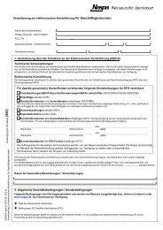 Vereinbarung zur elektronischen Kontoführung für - Naspa