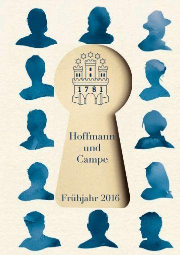 Hoffmann und Campe Frühjahr 2016