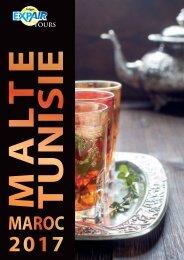 Brochure Malte Tunisie Maroc