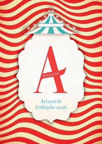 Atlantik Hardcover Frühjahr 2016