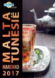 Brochure Malta Tunesië Marokko