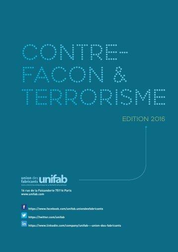 CONTRE- FACON & TERRORISME