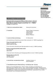 Öffentliches Verfahrensverzeichnis - Naspa