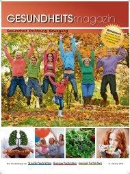 Gesundheitsmagazin 2016