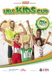UBS KidsCup Guide