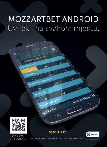 Brochure Mozzart Android