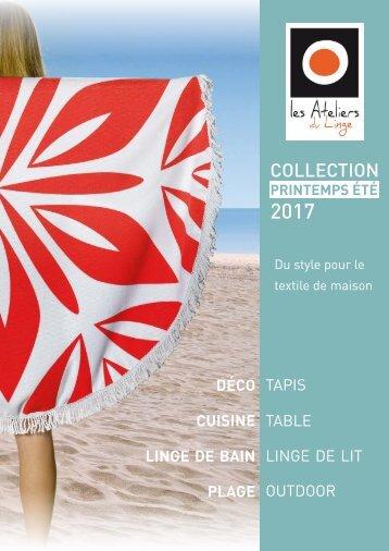 Catalogue Les Ateliers du Linge Printemps-Été 2017