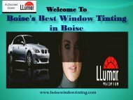 Commercial Window Tinting Idaho|Boise Window Tinting