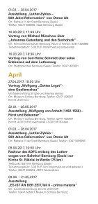 Reformationsjahr 2017 in Bernburg - Seite 5