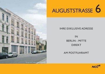 AUGUSTSTRASSE 6 - NCC Deutschland GmbH