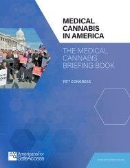 MEDICAL CANNABIS IN AMERICA THE MEDICAL CANNABIS BRIEFING BOOK