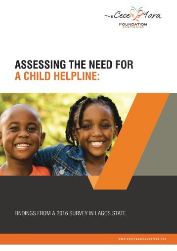 ASSESSING THE NEED FOR A CHILD HELPLINE