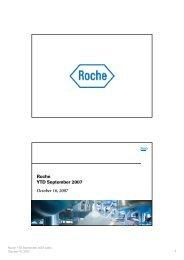 Roche YTD September 2007 October 16, 2007