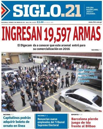 INGRESAN 19,597 ARMAS