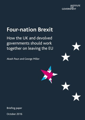 Four-nation Brexit