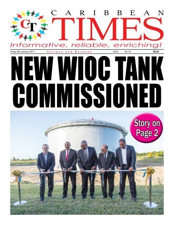 Caribbean Times 70th Issue - Friday 6th January 2017