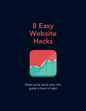 8 Easy Website Hacks