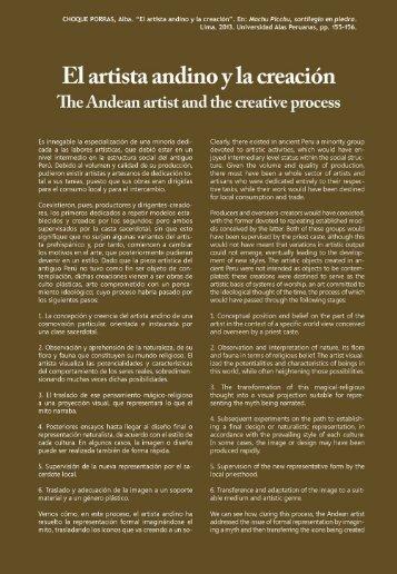 234821032-EL-ARTISTA-ANDINO-Y-LA-CREACION-Alba-Choque-Porras-En-Libro-Machu-Picchu-Sortilegio-en-Piedra
