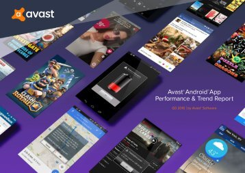 Avast Android App Performance & Trend Report