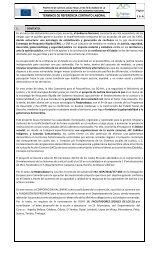 TÉRMINOS DE REFERENCIA CONTRATO LABORAL