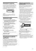 Sony MEX-N4100BT - MEX-N4100BT Istruzioni per l'uso Polacco - Page 7
