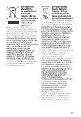 Sony HT-CT80 - HT-CT80 Istruzioni per l'uso Danese - Page 3