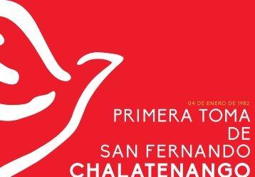 PRIMERA TOMA DE SAN FERNANDO