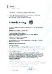 (( DAkkS - Labor Becker, Olgemöller & Kollegen