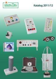 Katalog 2011/12 - DIDACTEC eK