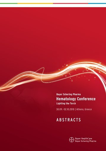Hematology Conference - Bayer HealthCare