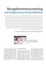 auf angeborene Immundefekte - Hauner Journal